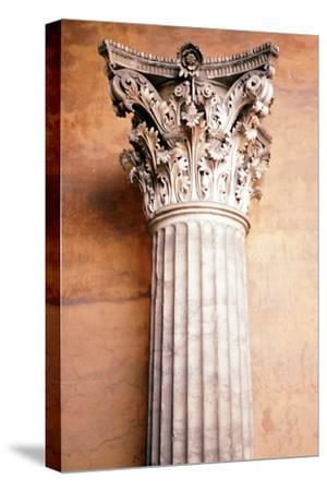 Corinthian Capital, c.2nd century. Artist: Unknown-Unknown-Stretched Canvas Print