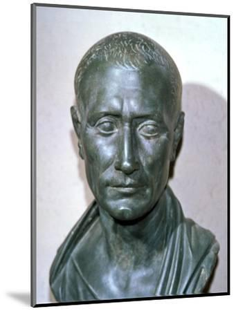 Bust of the late Republican politican Julius Caesar, 1st century BC. Artist: Unknown-Unknown-Mounted Giclee Print
