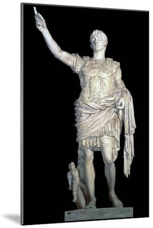Statue of the Emperor Augustus, 2nd century. Artist: Unknown-Unknown-Mounted Giclee Print