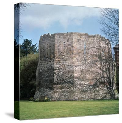 A Roman multangular tower, 3rd century. Artist: Unknown-Unknown-Stretched Canvas Print