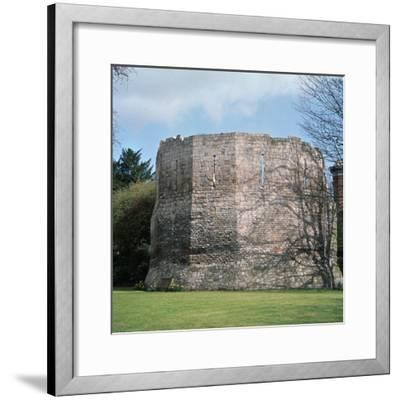 A Roman multangular tower, 3rd century. Artist: Unknown-Unknown-Framed Photographic Print