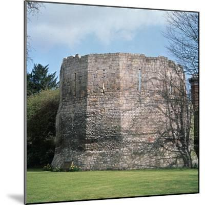 A Roman multangular tower, 3rd century. Artist: Unknown-Unknown-Mounted Photographic Print
