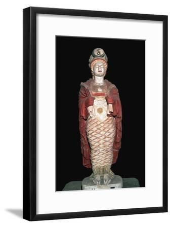 Depiction of a Romanised Isis. Artist: Unknown-Unknown-Framed Giclee Print