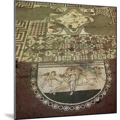 Mosaic pavement of a Roman villa, 2nd century. Artist: Unknown-Unknown-Mounted Giclee Print
