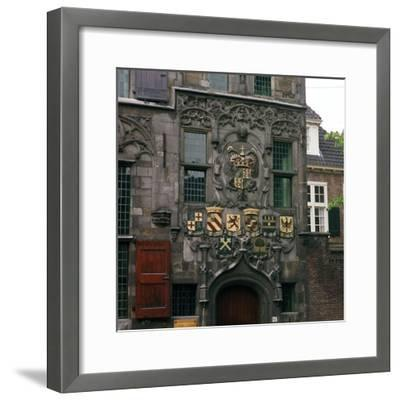 The Old Town Hall in Delft, 17th century.  Artist: CM Dixon Artist: Unknown-CM Dixon-Framed Photographic Print