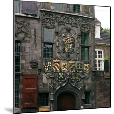 The Old Town Hall in Delft, 17th century.  Artist: CM Dixon Artist: Unknown-CM Dixon-Mounted Photographic Print