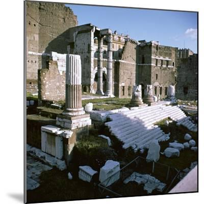 Temple of Mars Utor in Rome, 1st century. Artist: Unknown-Unknown-Mounted Photographic Print