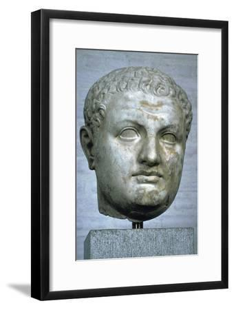 Head of the Roman emperor Titus, 1st century. Artist: Unknown-Unknown-Framed Giclee Print