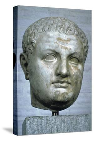 Head of the Roman emperor Titus, 1st century. Artist: Unknown-Unknown-Stretched Canvas Print