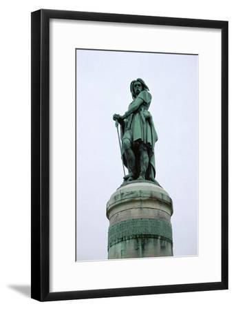 Statue of Vercingetorix, 1st century BC. Artist: Unknown-Unknown-Framed Giclee Print