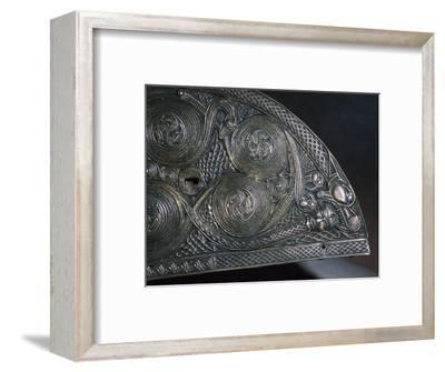 Detail of a Celtic reliquary, 8th century. Artist: Unknown-Unknown-Framed Giclee Print