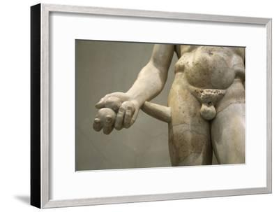 Statue of Heracles, 2nd century. Artist: Unknown-Unknown-Framed Giclee Print