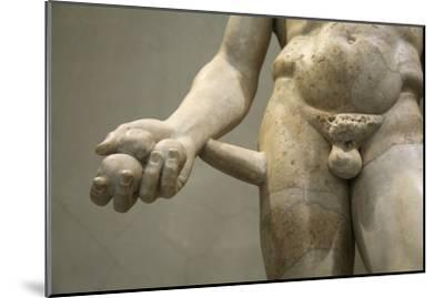 Statue of Heracles, 2nd century. Artist: Unknown-Unknown-Mounted Giclee Print