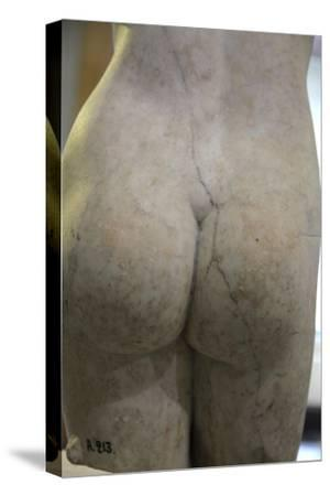 Torso of Aphrodite, 2nd century. Artist: Unknown-Unknown-Stretched Canvas Print