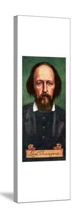 Lord Tennyson, taken from a series of cigarette cards, 1935. Artist: Unknown-Unknown-Stretched Canvas Print