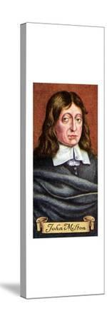 John Milton, taken from a series of cigarette cards, 1935. Artist: Unknown-Unknown-Stretched Canvas Print