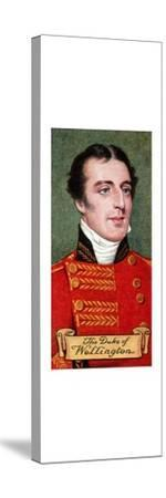 The Duke of Wellington, taken from a series of cigarette cards, 1935. Artist: Unknown-Unknown-Stretched Canvas Print