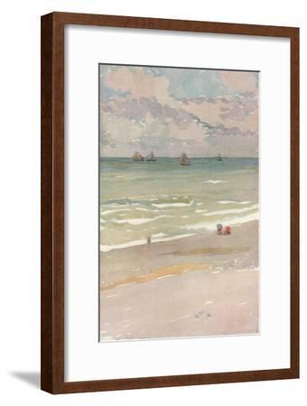 'The Sea Shore', c1880 (1902)-James Abbott McNeill Whistler-Framed Giclee Print