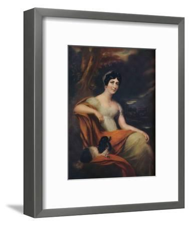 Mrs Cunliffe Offley, (1913)-L Busiere-Framed Giclee Print