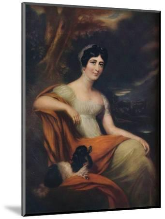 Mrs Cunliffe Offley, (1913)-L Busiere-Mounted Giclee Print