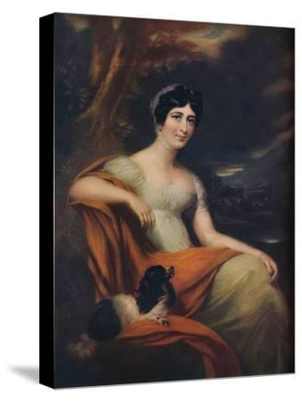 Mrs Cunliffe Offley, (1913)-L Busiere-Stretched Canvas Print