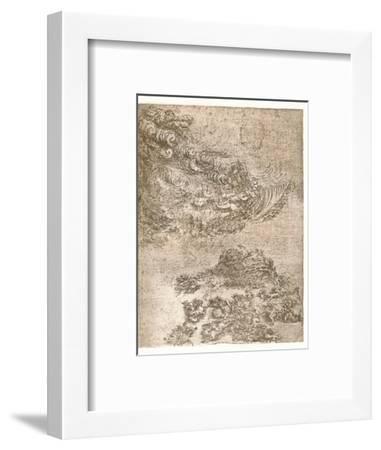 Representation of a tempest, c1472-c1519 (1883)-Leonardo da Vinci-Framed Giclee Print