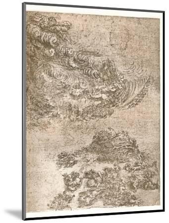 Representation of a tempest, c1472-c1519 (1883)-Leonardo da Vinci-Mounted Giclee Print