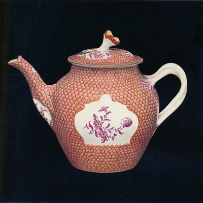 'Worcester Teapot and Cover', c1770-James Giles-Framed Giclee Print