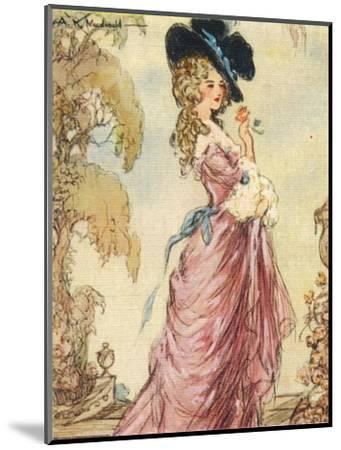 Georgiana, Duchess of Devonshire, 1937-Alexander K MacDonald-Mounted Giclee Print