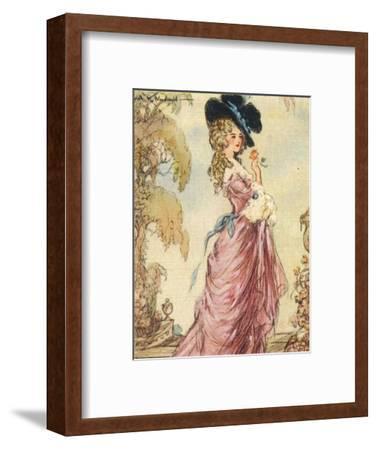 Georgiana, Duchess of Devonshire, 1937-Alexander K MacDonald-Framed Giclee Print