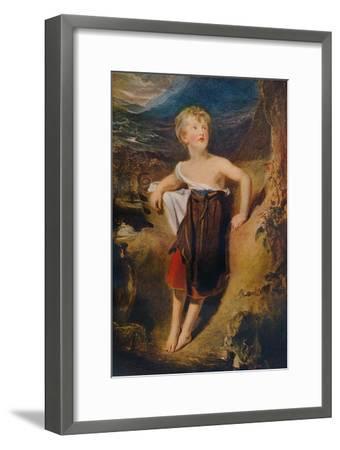 'Lady Georgiana Fane', c1806-Thomas Lawrence-Framed Giclee Print