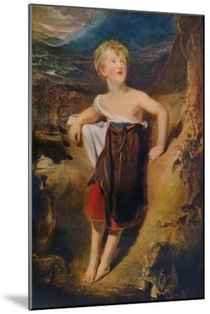 'Lady Georgiana Fane', c1806-Thomas Lawrence-Mounted Giclee Print