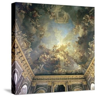 Ceiling of the Salon de Hercules at Versailles, 18th century-Francois Lemoyne-Stretched Canvas Print