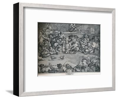The Cock Pit, c1840, (1917)-George Presbury-Framed Giclee Print
