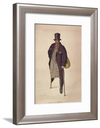 'Drawn at Salisbury', c1800-George Scharf-Framed Giclee Print