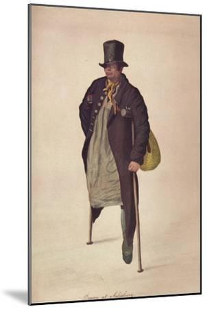 'Drawn at Salisbury', c1800-George Scharf-Mounted Giclee Print