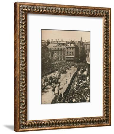 Queen Victoria's Diamond Jubilee, 1897 (1906)-London Stereoscopic & Photographic Co-Framed Giclee Print