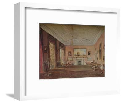 'Drawing Room, Farnley', 1818-JMW Turner-Framed Giclee Print