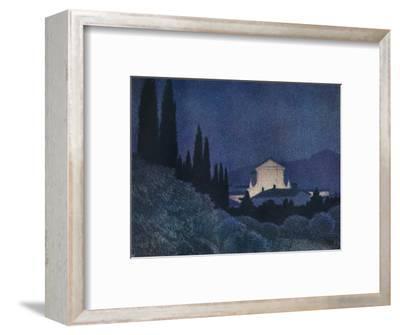 'Sera di Festa', c1930 (1934)-Giuseppe Ugonia-Framed Giclee Print