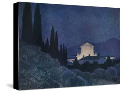 'Sera di Festa', c1930 (1934)-Giuseppe Ugonia-Stretched Canvas Print