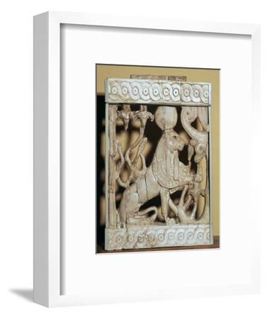 Phoenician ivory panel from a piece of furniture-Unknown-Framed Giclee Print
