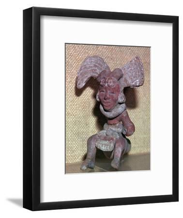 Huaxtec culture terracotta figurine-Unknown-Framed Giclee Print