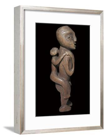 Sound Native American maternal statuette-Unknown-Framed Giclee Print