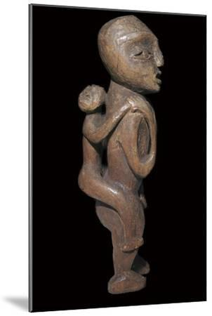 Sound Native American maternal statuette-Unknown-Mounted Giclee Print