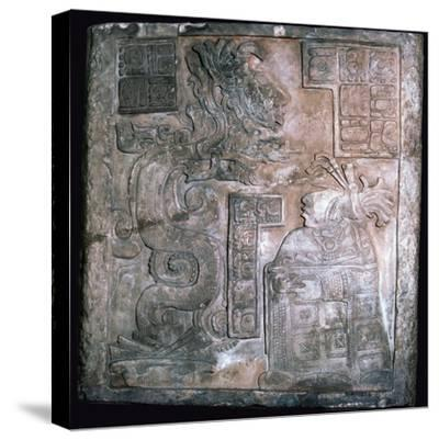 The Yaxchilan Lintels, 8th century-Unknown-Stretched Canvas Print