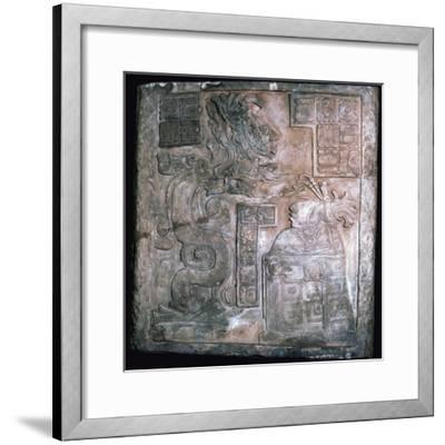 The Yaxchilan Lintels, 8th century-Unknown-Framed Giclee Print
