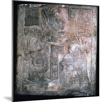 The Yaxchilan Lintels, 8th century-Unknown-Mounted Giclee Print