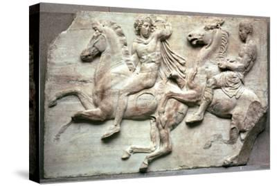 Detail of the Elgin Marbles, 5th century BC-Unknown-Stretched Canvas Print