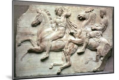 Detail of the Elgin Marbles, 5th century BC-Unknown-Mounted Giclee Print