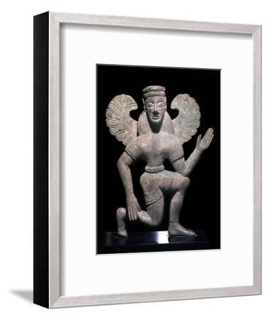 Greek bronze of one of the Eumenides-Unknown-Framed Giclee Print